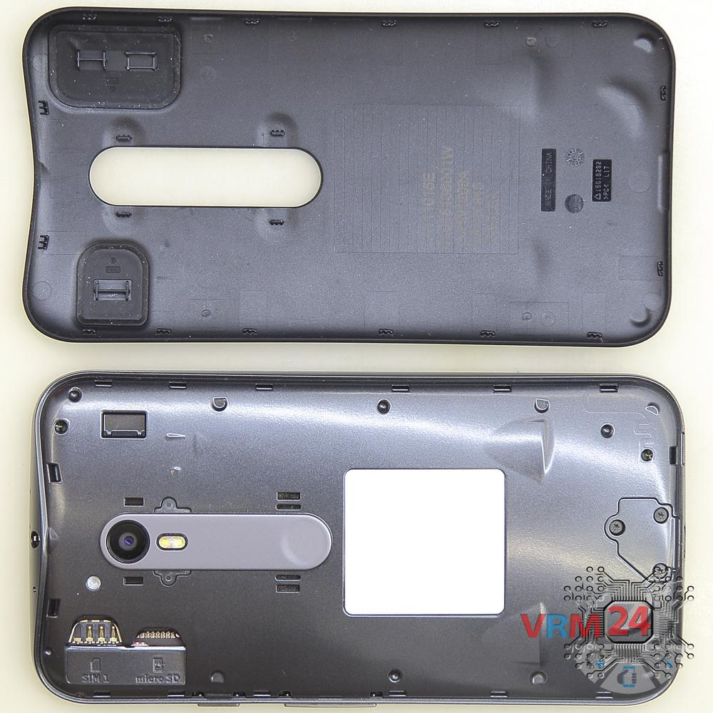 🛠 How to disassemble Motorola Moto G (3rd gen) XT1541 instruction | Photos  + Video