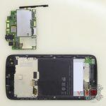 How to disassemble HTC Desire 326G, Step 10/3