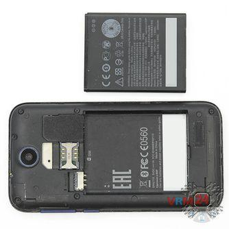 How to disassemble HTC Desire 310, Step 2/2