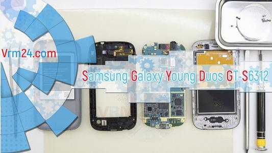 Technical review Samsung Galaxy Young Duos GT-S6312