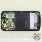 How to disassemble HTC Desire 326G, Step 8/2