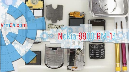 Technical review Nokia 8800 RM-13