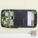 How to disassemble HTC Desire 326G, Step 9/6