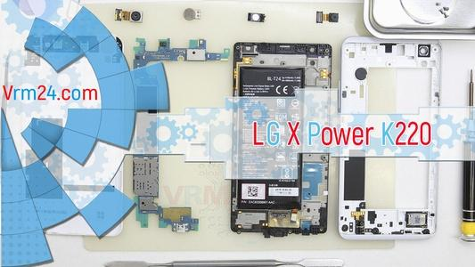 Technical review LG X Power K220
