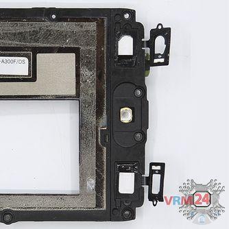 How to disassemble Samsung Galaxy A3 SM-A300, Step 8/2