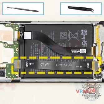 How to disassemble Samsung Galaxy A20s SM-A207, Step 13/2