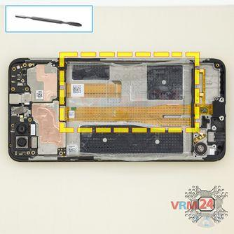 How to disassemble Oppo A3s, Step 11/1