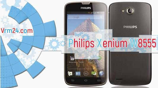Technical review Philips Xenium W8555