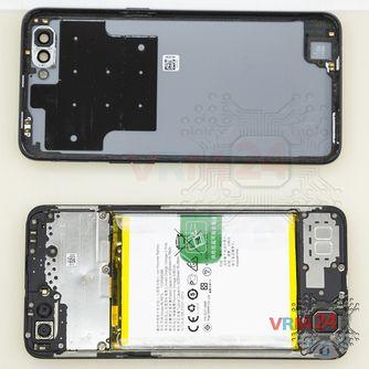 How to disassemble Oppo A3s, Step 2/2
