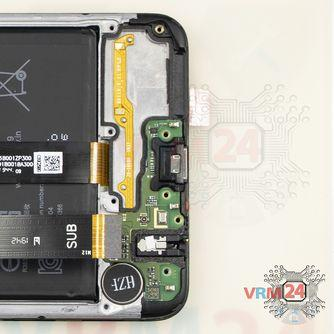 How to disassemble Samsung Galaxy A20s SM-A207, Step 11/2
