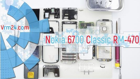 Technical review Nokia 6700 Classic RM-470