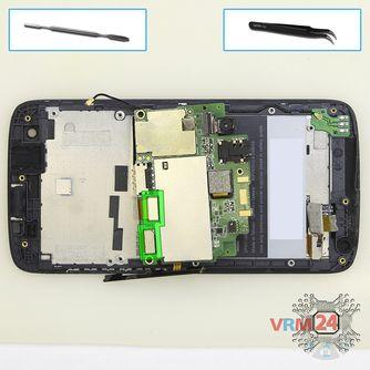 How to disassemble HTC Desire 326G, Step 10/1