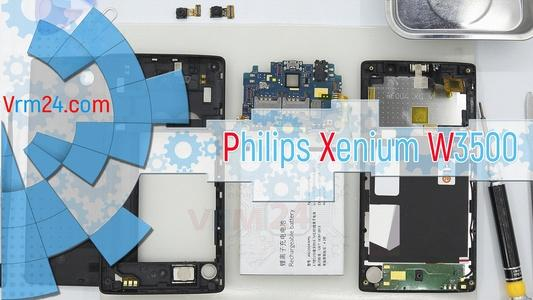 Technical review Philips Xenium W3500