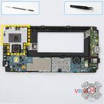 How to disassemble Samsung Galaxy A3 SM-A300, Step 6/1