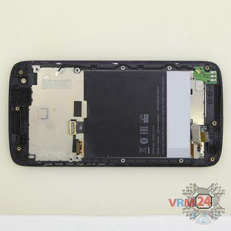 How to disassemble HTC Desire 326G, Step 12/1