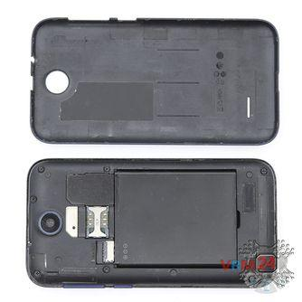 How to disassemble HTC Desire 310, Step 1/2