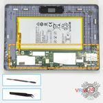 How to disassemble Huawei MediaPad T3 (10''), Step 13/1