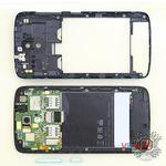 How to disassemble HTC Desire 326G, Step 4/2
