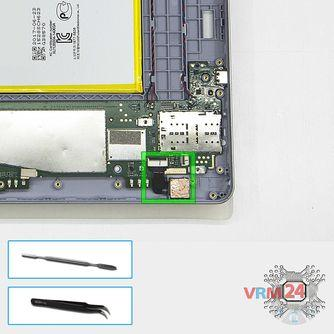 How to disassemble Huawei MediaPad T3 (10''), Step 11/1