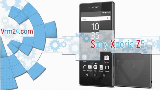 Technical review Sony Xperia Z5 E6603
