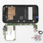 How to disassemble HTC Desire 310, Step 6/4