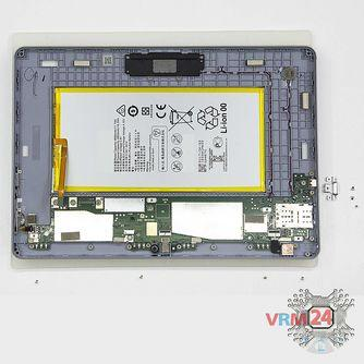 How to disassemble Huawei MediaPad T3 (10''), Step 10/2