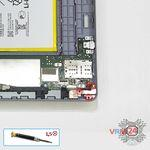 How to disassemble Huawei MediaPad T3 (10''), Step 5/1