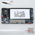How to disassemble Samsung Galaxy A7 SM-A700, Step 5/1