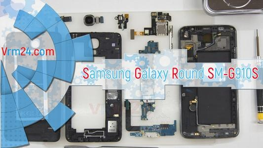Technical review Samsung Galaxy Round SM-G910S