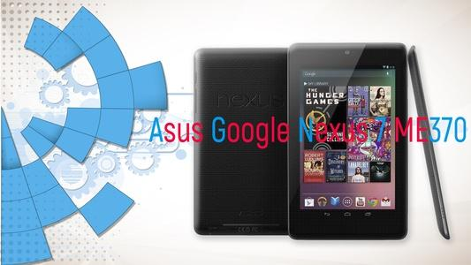 Technical review Asus Google Nexus 7 ME370