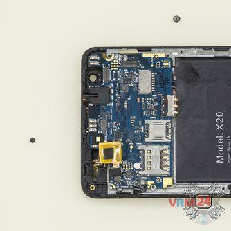 How to disassemble Doogee X20, Step 10/2
