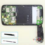 How to disassemble HTC Desire 326G, Step 7/1