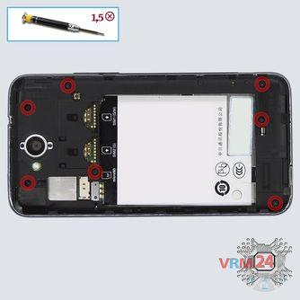 How to disassemble ZTE Skate 2, Step 3/1