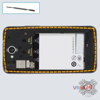 How to disassemble ZTE Skate 2, Step 4/1