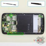 How to disassemble HTC Desire 326G, Step 9/1