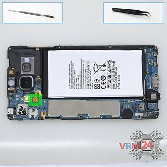 How to disassemble Samsung Galaxy A7 SM-A700, Step 6/1