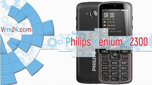 Technical review Philips Xenium X2300
