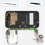 How to disassemble HTC Desire 310, Step 7/1
