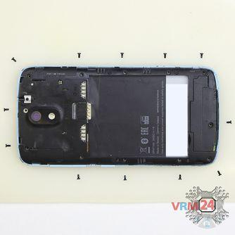 How to disassemble HTC Desire 326G, Step 3/2