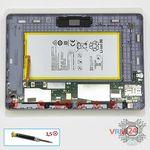 How to disassemble Huawei MediaPad T3 (10''), Step 8/1