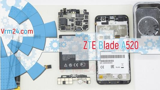 Technical review ZTE Blade A520