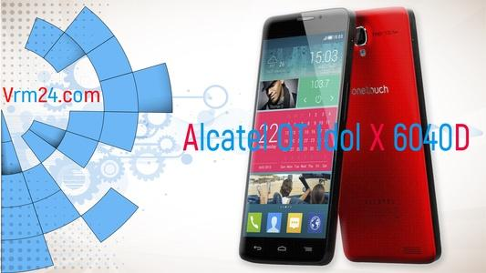 Technical review Alcatel OT Idol X 6040D