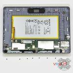 How to disassemble Huawei MediaPad T3 (10''), Step 8/2