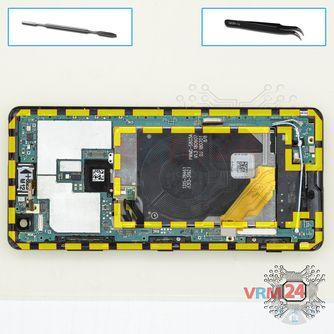 How to disassemble Sony Xperia XZ3, Step 14/1