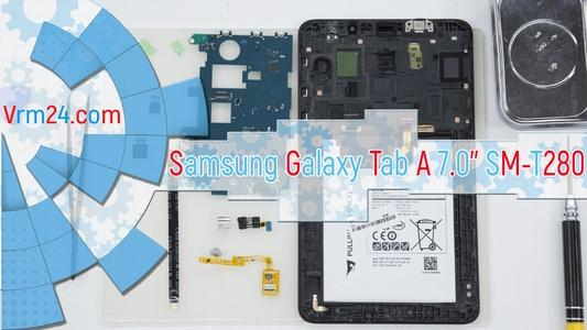 Technical review Samsung Galaxy Tab A 7.0'' SM-T280