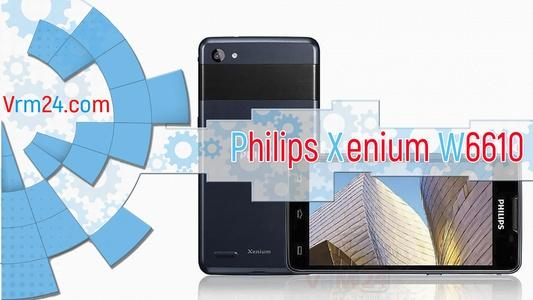 Technical review Philips Xenium W6610