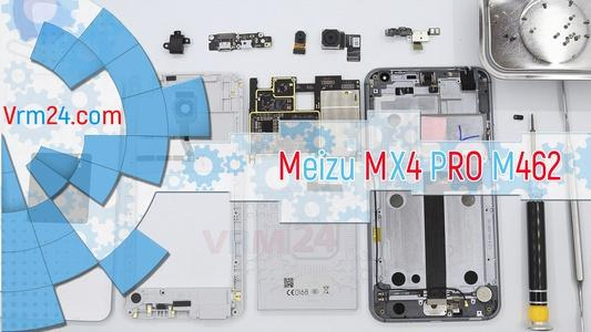 Technical review Meizu MX4 PRO M462