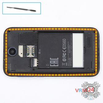 How to disassemble HTC Desire 310, Step 4/1