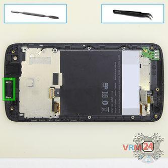 How to disassemble HTC Desire 326G, Step 11/1