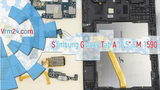 Technical review Samsung Galaxy Tab A 10.5'' SM-T590